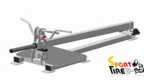 Т-образная тяга с упором на ноги  Fit Way Factory  - 1505
