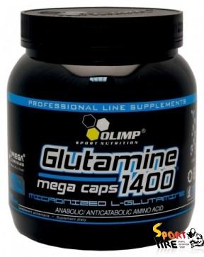 L-Glutamine Mega Caps 1400 300 caps - 1000