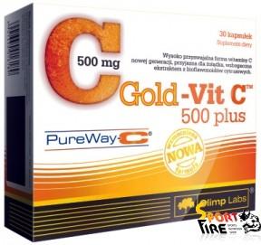 Gold-Vit C 500 Plus 30 caps - 1016