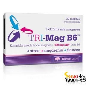 TRI-Mag B6 30 tab - 1018
