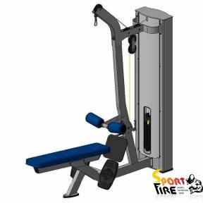 Блок для мышц спины X118 - 1776
