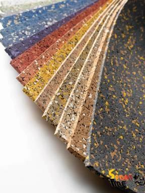 Напольные резиновые покрытия для спортзалов - 1256