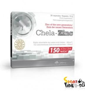 Chela-Zinc 30 caps - 1013