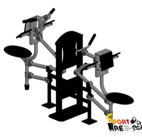 Тренажер для мышц бицепса   - 362