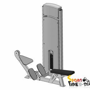 Блок для мышц спины (нижняя тяга)     - 1478