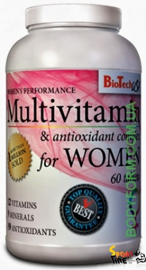 Multivitamin for Women 60 tab - 358
