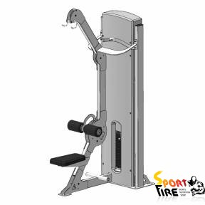 Блок для мышц спины (верхняя тяга)  - 1479