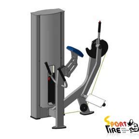 Тренажер для ягодичных  мышц радиальный X131 - 1798