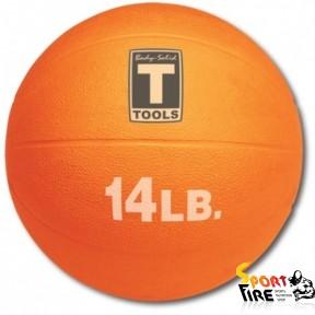 Медицинский мяч 14LB 6.4KG ORANGE. - 1355