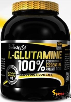 100% L-glutamine 500 g - 387