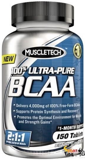 100% Ultra-Pure BCAA 150 cap - 924