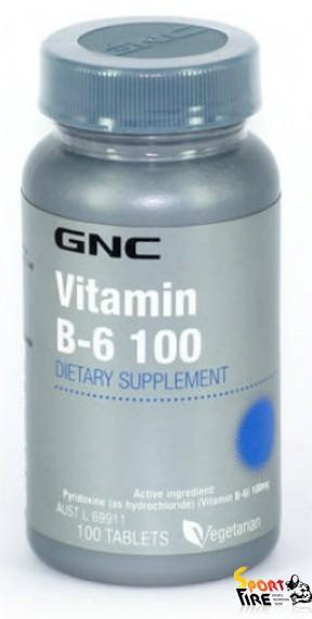 Vitamin B-6 100 100 tab - 780