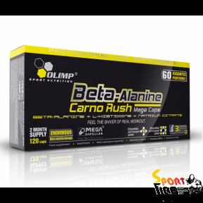 Beta-Alanine Carno Rush 120 caps - 1030