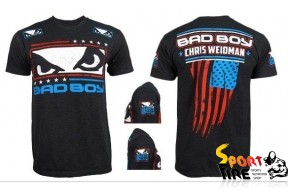 "Футболка BAD BOY ""USA Flag"" Chris Weidman - 1146"