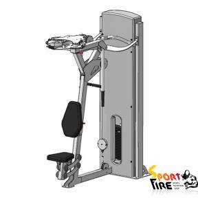 Комбинированный грузоблочный тренажер для мышцы груди и задних дельт - 1475