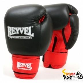 REYVEL Перчатки боксерские общего назначения (кожа+винил) 10 oz - 972