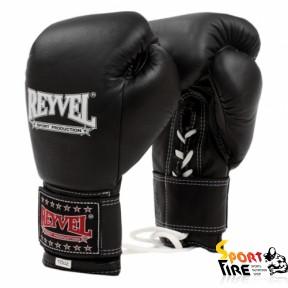 REYVEL Перчатки боксерские ПРО с застежкой 12 oz - 215
