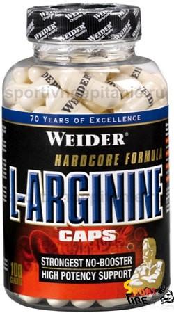 L-Arginine Caps 100 caps - 385
