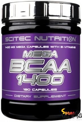 Mega BCAA 1400 180 caps - 628
