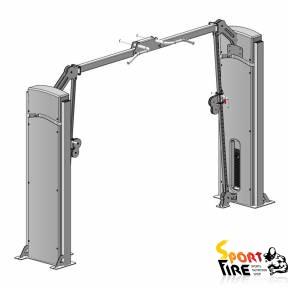 Блочная рамка с регулируемым блоком по высоте (кроссовер)    - 1480