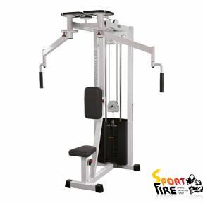Тренажер для грудных мышц и задних дельт комбинир. ST124 - 1563