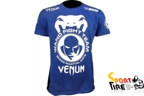 "Футболка VENUM ""Wand Shockwave Blue"" - 1149"