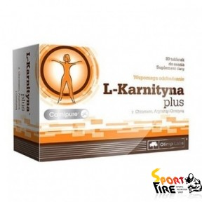 L-Karnityna  Plus 80 tabs - 997