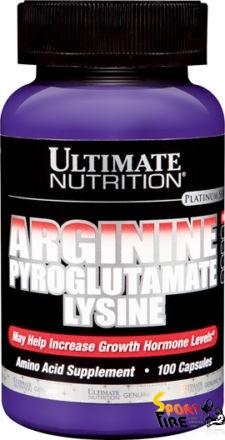 Arginine Pyroglutamate Lysine 100 caps - 543