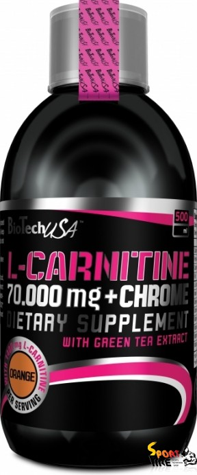 L-Carnitine 70 000+Chrome 500 ml - 418