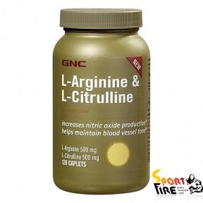 L-Arginine & L-Citrulline 120 cap - 726